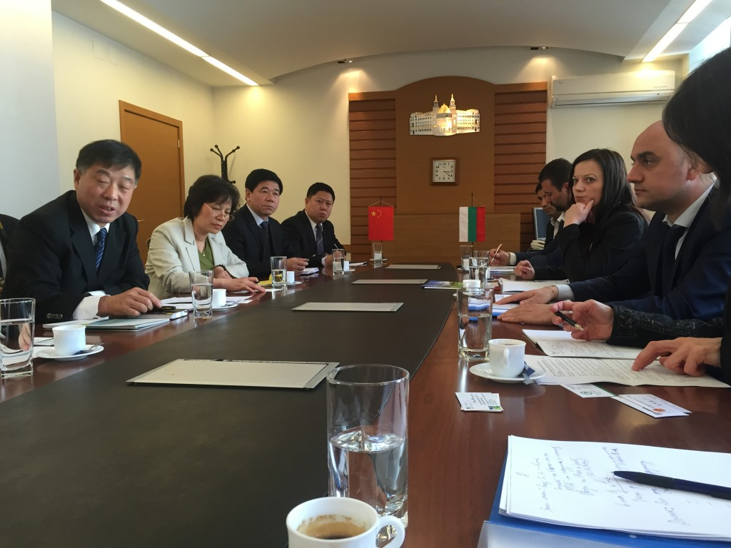 Meeting in the Agricultural Ministry