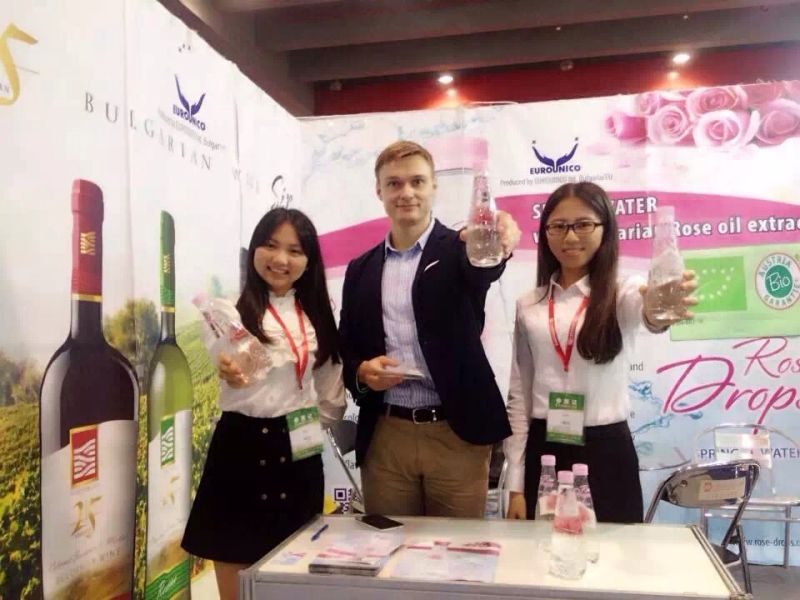 Rose Drops of Eurounico participate in WaterExpo 2015 - China (Guangzhou) International High-end Drinking Water Industry Expo 2015