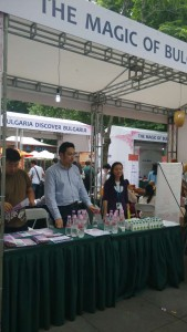 Direct sales and advertising at BULGARIAN CULTURE WEEK in Shanghai 2015 International Jing'an Culture Plus