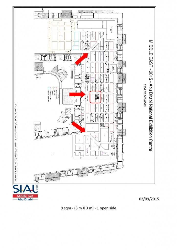 Eurounico and Rose Dropse Invite you at SIAL Midle East Abu Dabi 7-9 December 2015