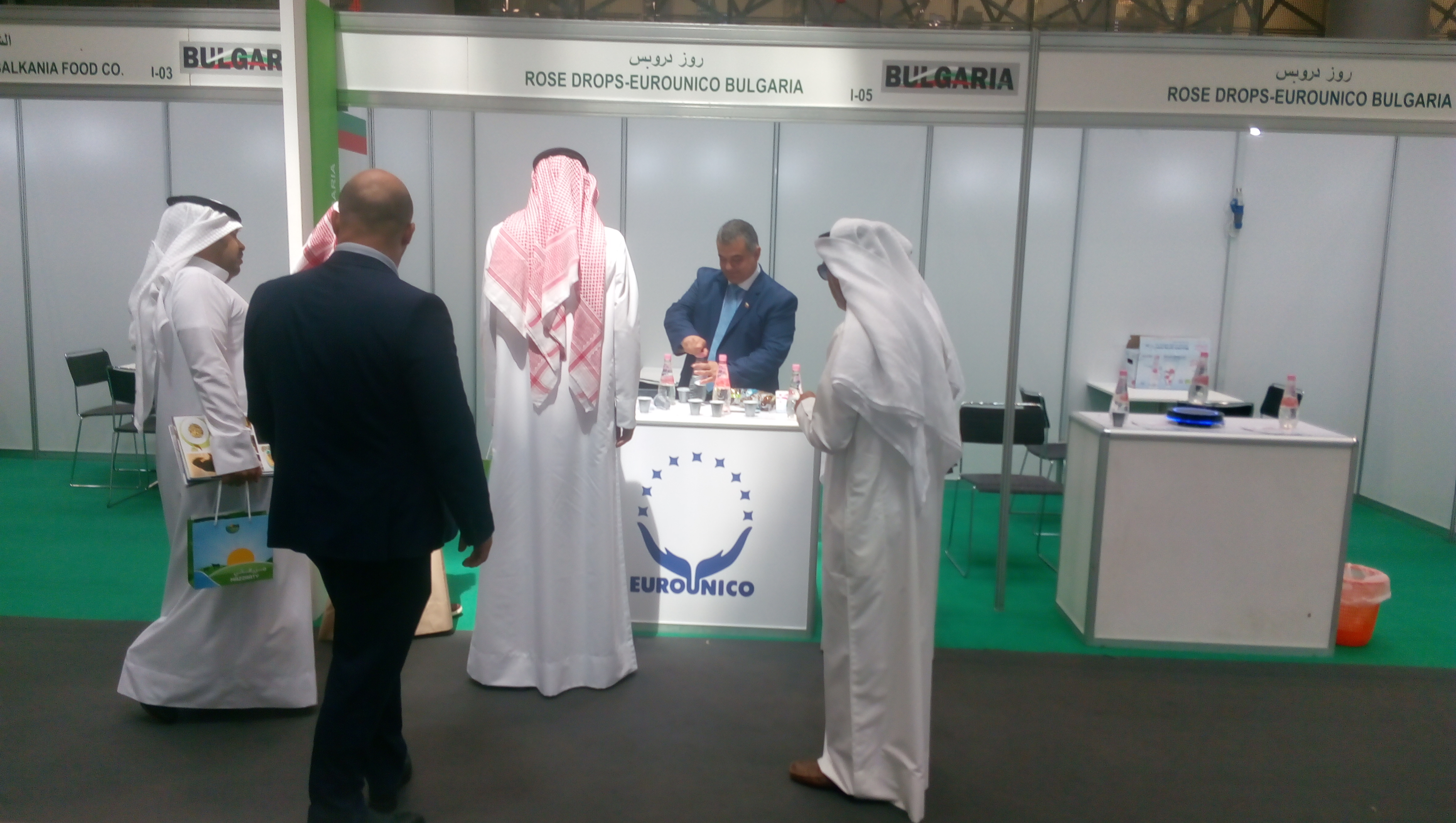 ROSE DROPS takes part in AGRITEQ 2018 at Doha Exhibition
